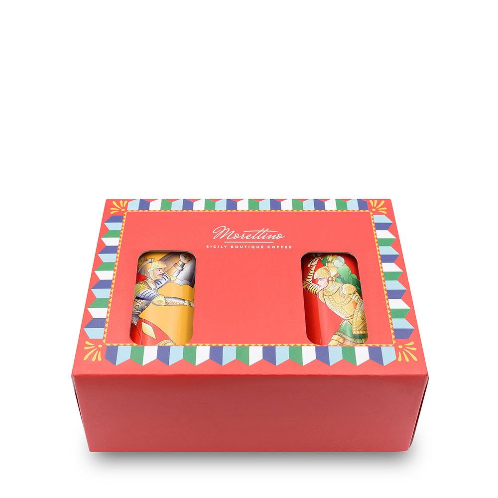 Pupi Siciliani - Darčeková krabica mletá 2x125g